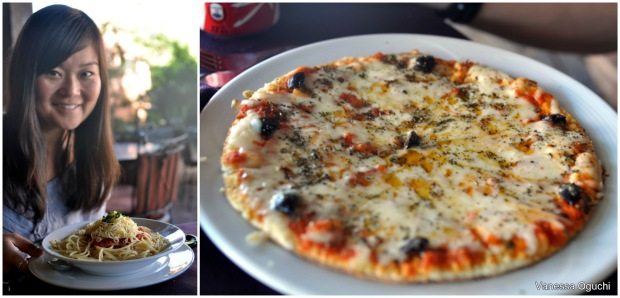 Food that resembled Italina! (Yes, I was excited).