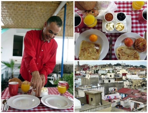dar rif breakfast collage