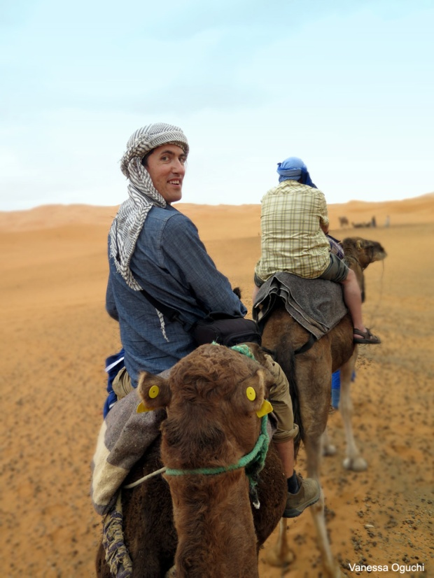 Greg on his camel