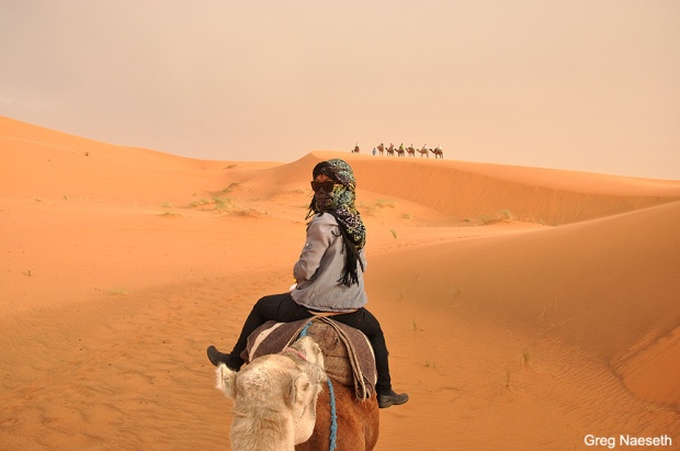 This is me on a camel