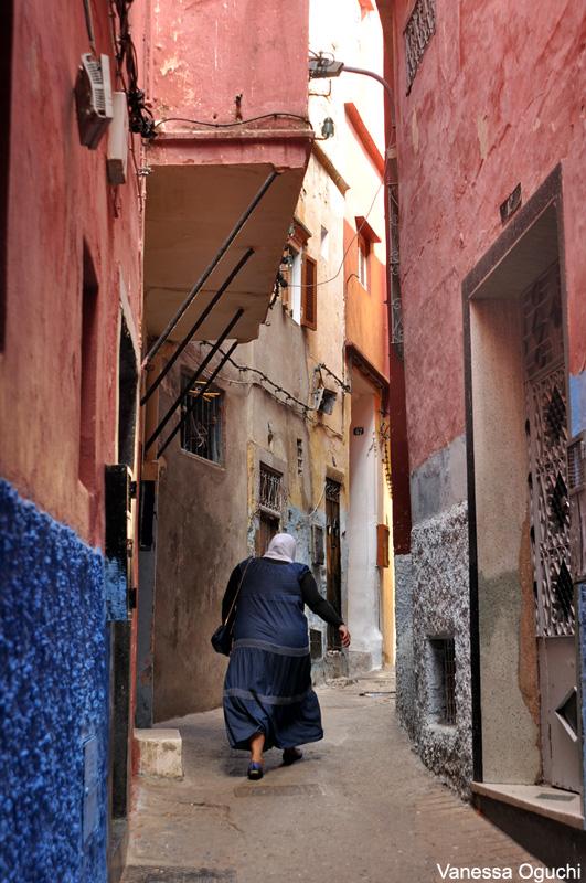 woman in medina