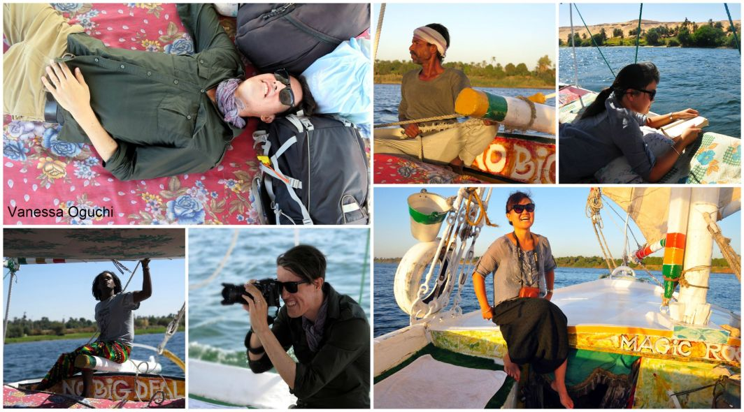 How to spend the day on your felucca