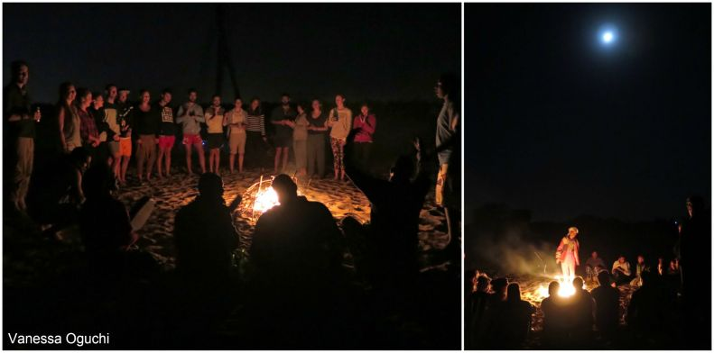 Songs and a bonfire