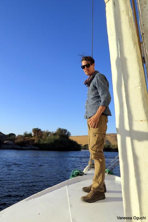 Greg on deck