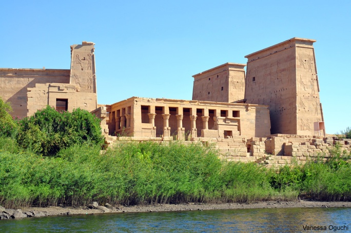 Approaching Philae Temple