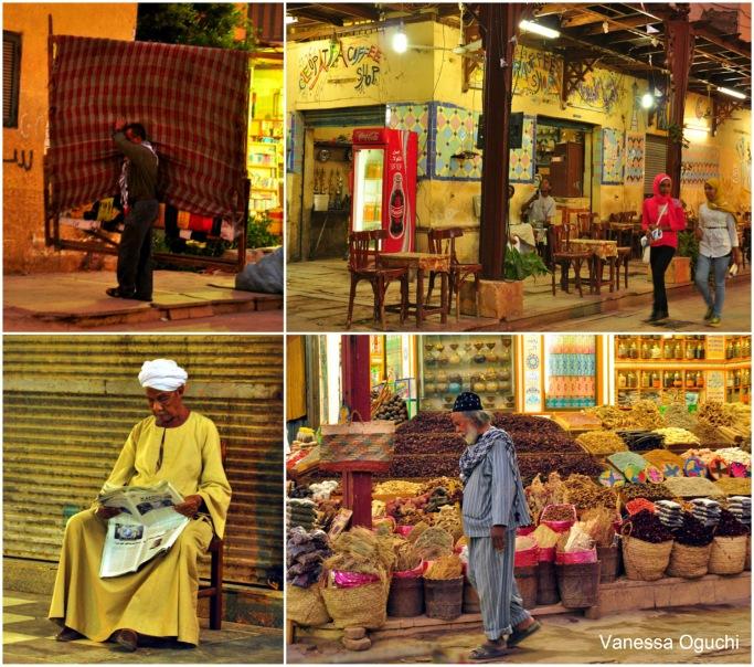 Street scene in Aswan