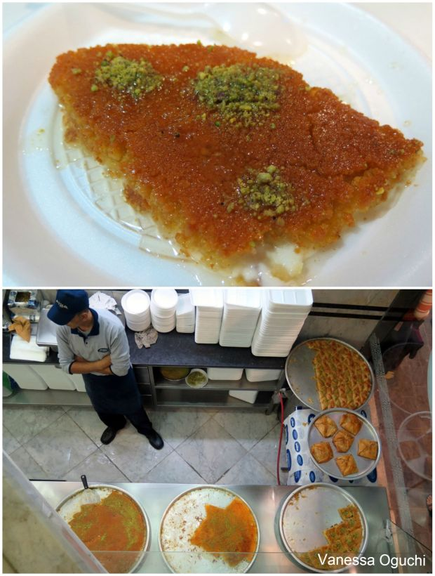 Knafeh -the most gluttonous dessert ever