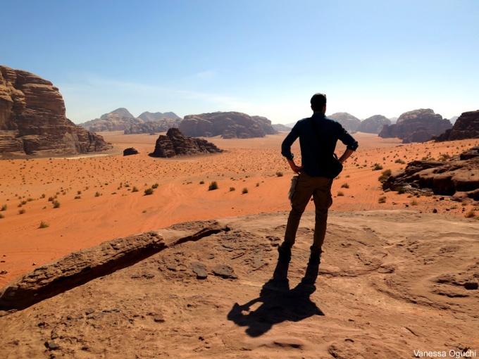 The views at Wadi Rum.