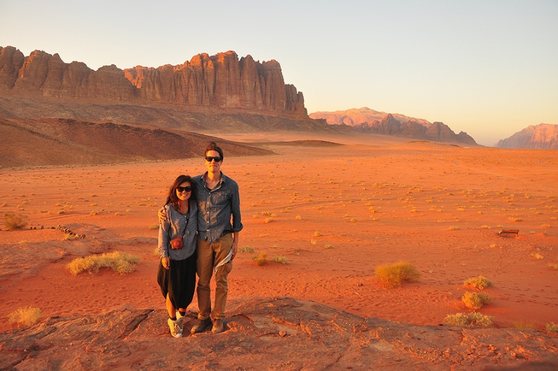 Us in Wadi Rum