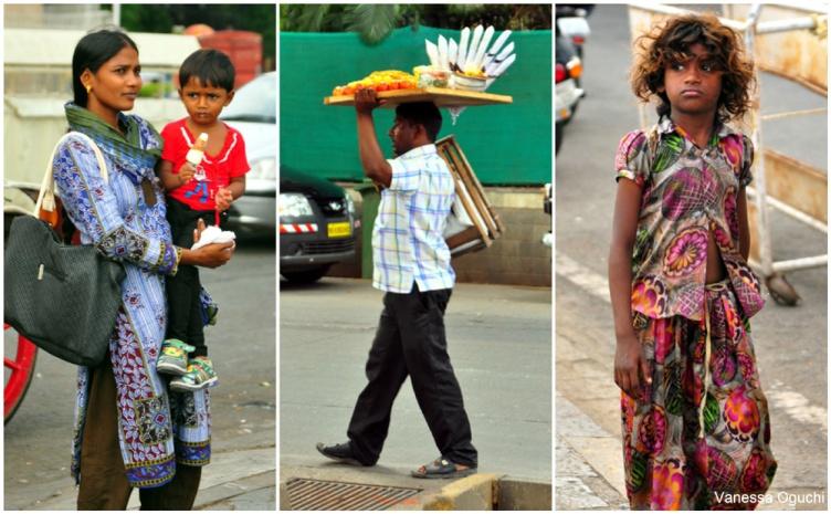 People watching in Mumbai