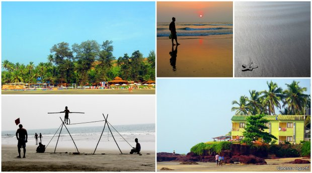 Beaching around in Northern Goa