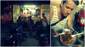 Ghobi Manchurian from a food truck.