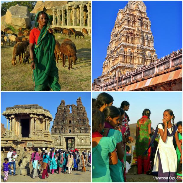The sights in Hampi