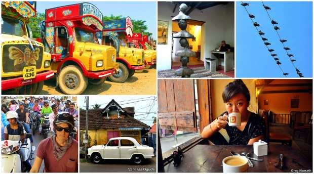 Scenes from Kochi: