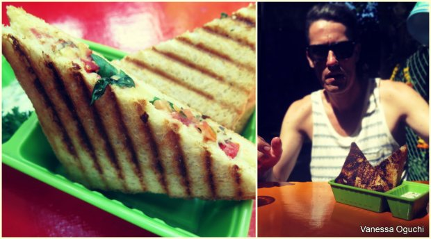 Tasty toasted sandwiches at Little World