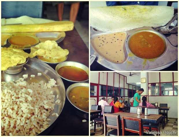 Shri Krisha Restaurant in Mattancherry.  Our fave!