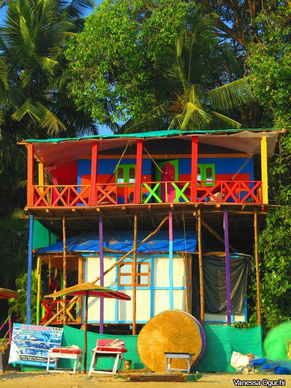 A Palolem Beach Hut