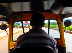in the rickshaw