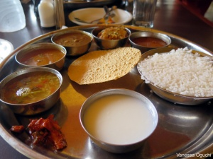 Thali at Sagar Kinara