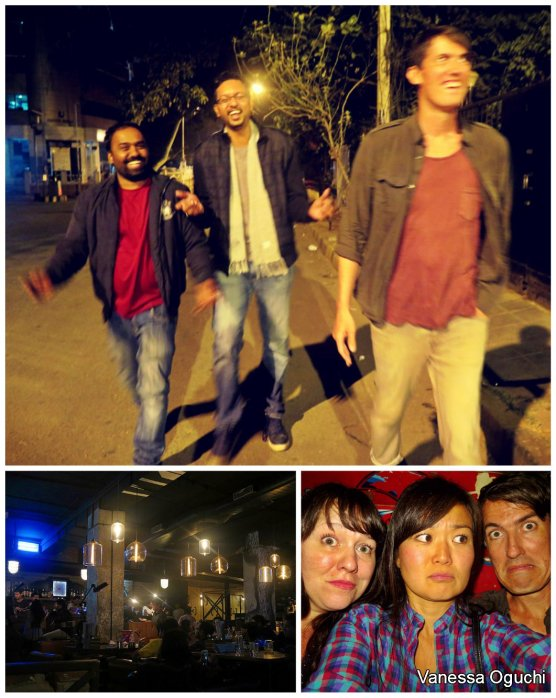Bar hopping in Bangalore