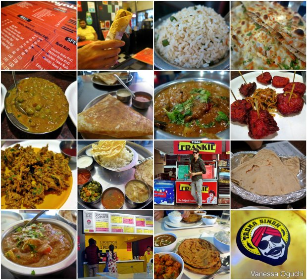 The food we ate in Bangalore