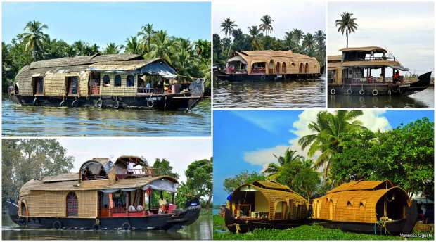 Different houseboat designs
