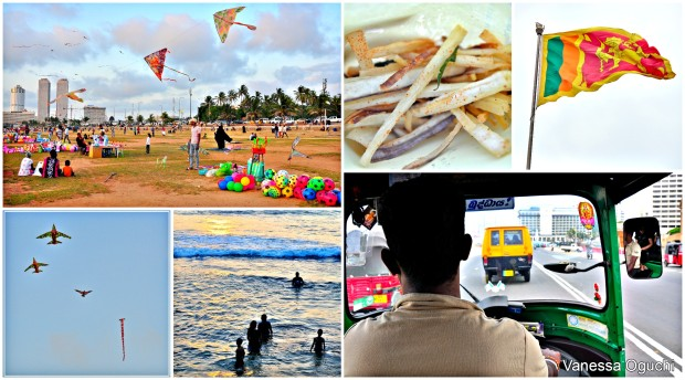 Galle Green collage